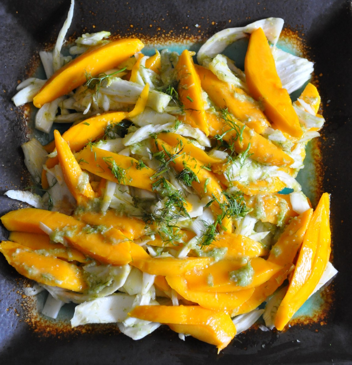 Fennel and Mango Salad